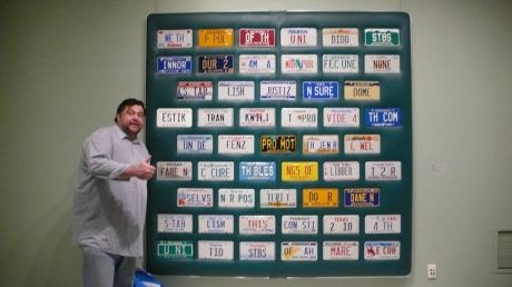 license-plate-wall